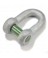 Green Pin gerade Schäkel / Innenvierkantkopf-Bolzen