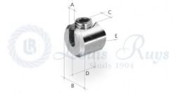 Klemmzylinder / einfach für runde Profile